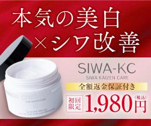SIWA-KC:シワケーシー (SIWA KAIZEN CARE) 薬用シワ改善オールインワンスキンケアの口コミ!有効成分ナイアシンアミド配合